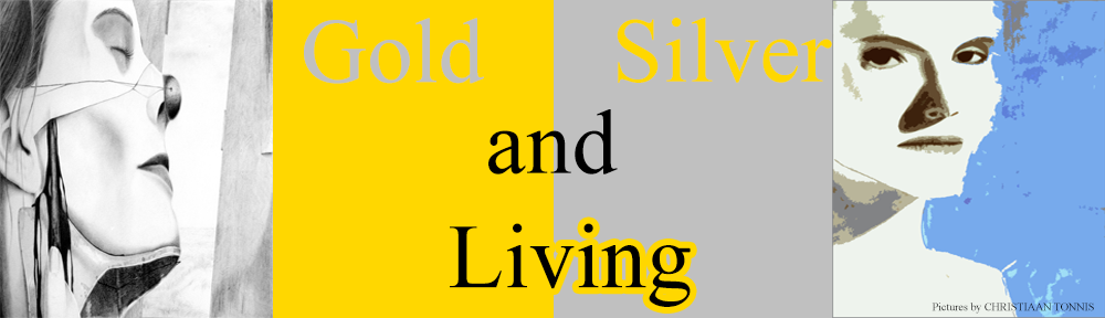 Gold and Silver Living Header