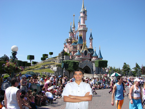 Graham Miranda in Disney Land